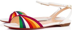 Naseeba Flat by Louboutin is Pretty AND Fun