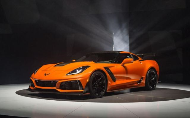 Tricked Out Orange Stingray as seen on autocar.co.uk