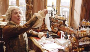 This Used To Be Somebody's Job and Work Attire. Dustin Hoffman as the Parisian parfumier Giuseppe Baldini in 'Perfume – The Story of a Murderer' Photo via Labiotech.eu.