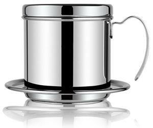 Vietnamese Coffee Press is a compact way to make a nice, strong cup of coffee quickly and easily.