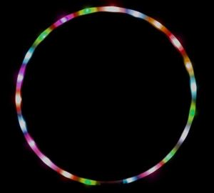If you cannot think of multiple uses for an LED light-up Hula Hoop, feel shame.