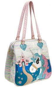 No, we haven't posted enough unicorn stuff. King Of The Castle Purse is over the top in the best ways. ThinkGeek.com.