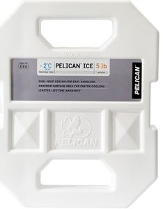 Made to fit in most models, the Pelican ice packs are highly rated by users for keeping contents cold for days with no muss or fuss.
