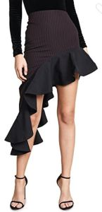 Iconic temptress skirt made for dancing or posing. Vatanika Assymetrical Hem Skirt at shopbop.com.