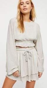 Summer casual in a breezy, feminine and laid back style. The Sweet Lady Mini, available in five colors from freepeople.com.