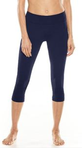 UPF 50+ capris for swimming, paddle boarding, boating, or what have you. These are available in ankle and short length, in several colors, from coolibar.com.