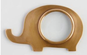 Even those ShoppingGirls possessing great eyesight will likely find the need for a magnifying glass at some point during their studies. Schoolkids will definitely need one. How about this cute Elephant Magnifying Glass, that doubles as a paperweight? Worldmarket.com.