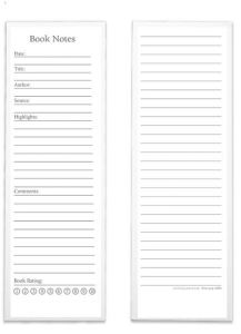 One of the things that Levenger is known for is its comprehensive range of pre-designed papers containing prompts and sections for keeping track of different kinds of information. These Levenger Book Notes Bookmark Cards come in an ample set of 100, and are great for literature students in particular. Of course, they'll also provide excellent bookmark notes for any student who has a lot of books to manage and will be needing to create bibliographies. They are also nice for bookish types who simply want to keep a convenient bookmark inside each book they are reading or have completed, noting their thoughts about it. You can also retain these to keep a record of textbooks you have re-sold. That's not a bad idea if you perceive any chance that you might need to refer to the publication information for reference purposes, or to verify funds spent for financial aid purposes.