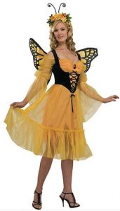 Mom can get some after-Halloween play value from her Monarch Butterfly Costume too. Did I just say that? orientaltrading.com.