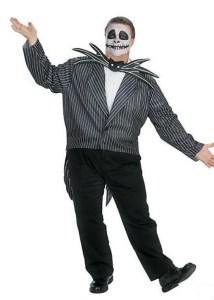I love plus size Nightmare Before Christmas Jack, since Jack himself is such a skinny noodle. Hook up your guy, whether hefty hunk or slim stud, with this popular character costume at orientaltrading.com.