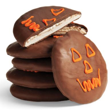 More indulgence. Chocolate Marshmallow Jack-O'-Lanterns feature honey marshmallow with milk chocolate coating. You get 6 individually wrapped treats per box. seescandies.com