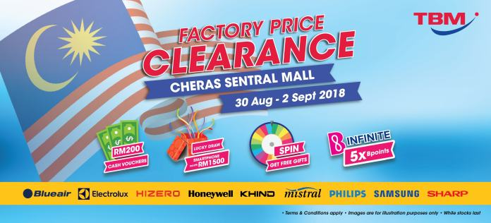 TBM Clearance Sale