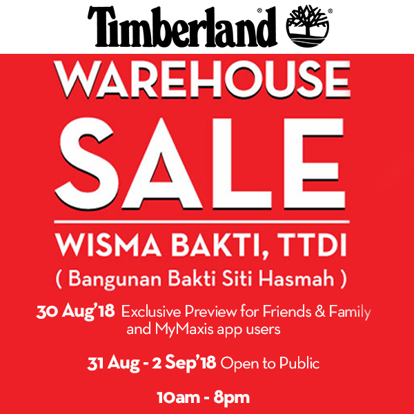 Warehouse Sale Timberland