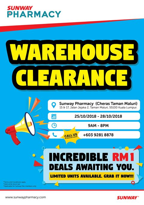 Sunway Warehouse Sale