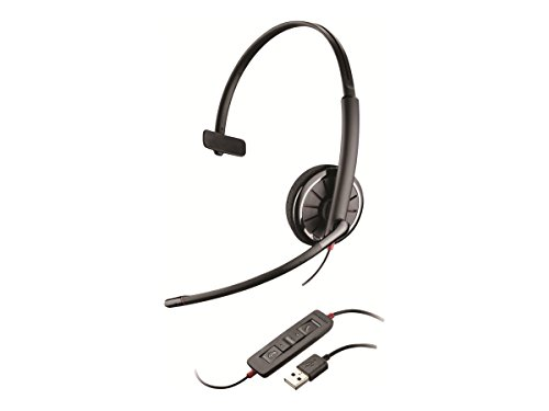 USB Monaural Headset With Noise Cancelling Microphone