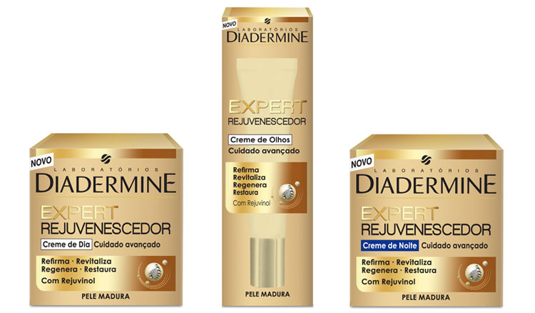 Diadermine lança gama Expert Rejuvenescedor para peles maduras