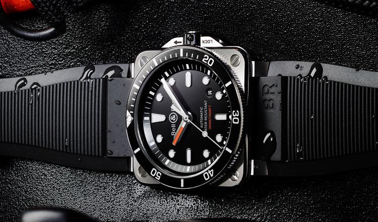 BR03-92 Diver: O primeiro relógio de mergulho quadrado da Bell & Ross