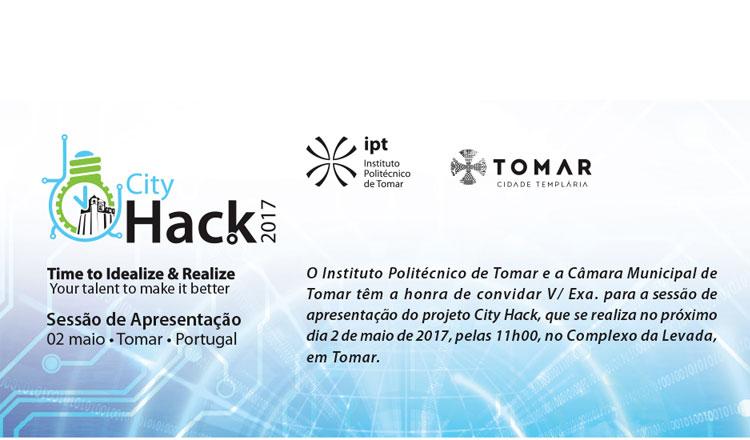 Câmara Municipal de Tomar apresenta evento tecnológico City Hack