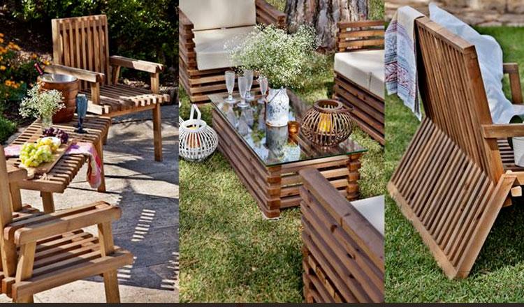 Mobili?rio de jardim com assinatura portuguesa Carmo Wood ...