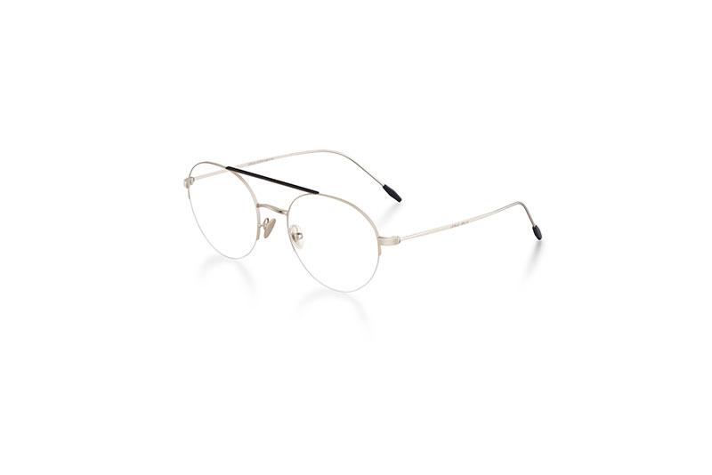 Com o DNA e detalhes icónicos da marca, os óculos remetem ao estilo  clássico Giorgio Armani, com inspiração vintage, trabalho artesanal  impecável, ... b1cc916855