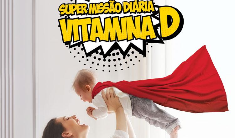 Campanha de alerta para a importância da toma diária de Vitamina D