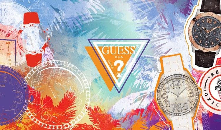 2386ccd15dd Guess Watches é parceiro oficial do NOS Alive