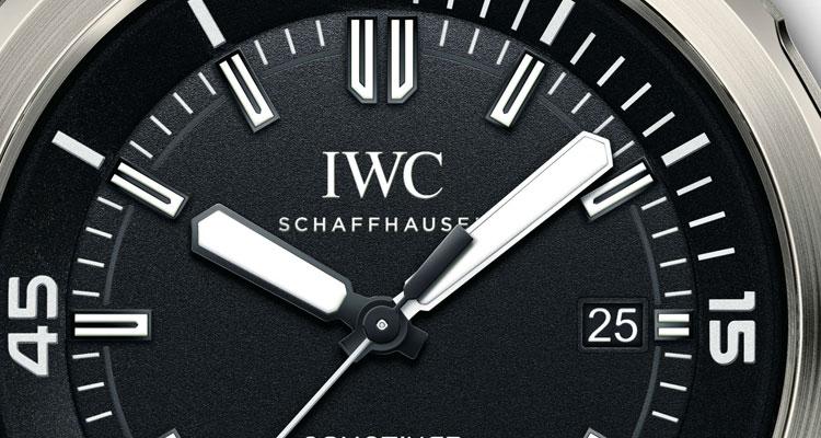 cb5b616085f IWC lança Edição Especial do Aquatimer – Limitado a 350 exemplares