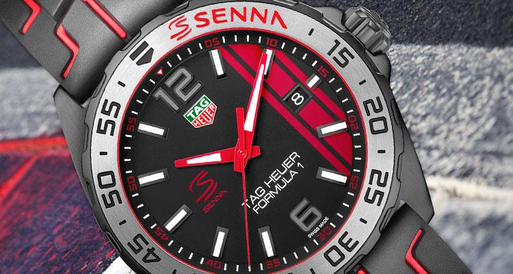 cc5d8d8058e Tag Heuer apresenta coleção Ayrton Senna edições especiais