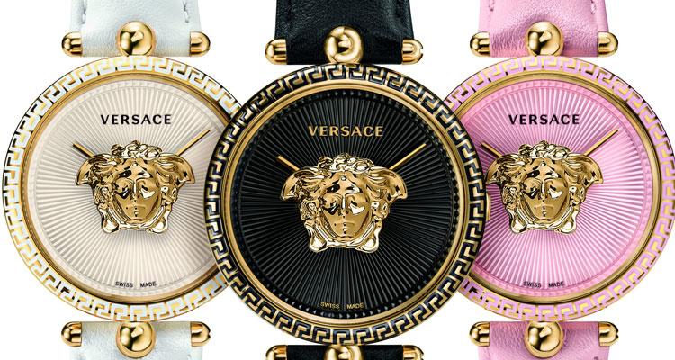 90aae704604 VERSACE apresenta nova coleção de relógios para 2017