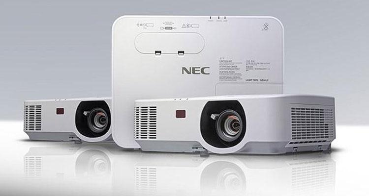 NEC apresenta nova gama de projetores profissionais da série P