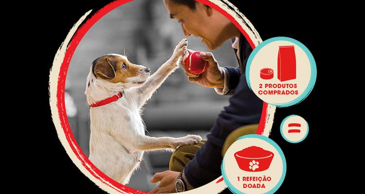 """PURINA quer ajudar mais animais com a Campanha """"Juntos Doamos +"""""""