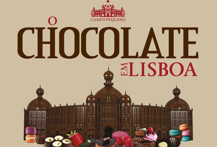 """""""O CHOCOLATE EM LISBOA"""" celebra a sua 5ª edição no Campo Pequeno"""