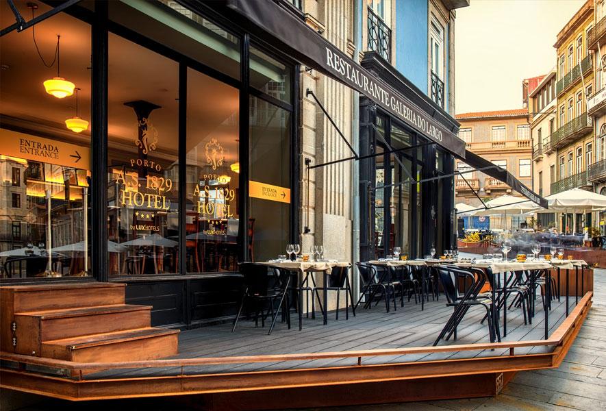 Restaurante Galeria do Largo, no Porto, traz novas tendências ao centro da cidade