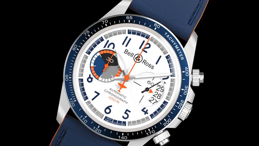 99b0e3a4b69 Bell   Ross cria dois relógios inspirados em avião concebido pela marca