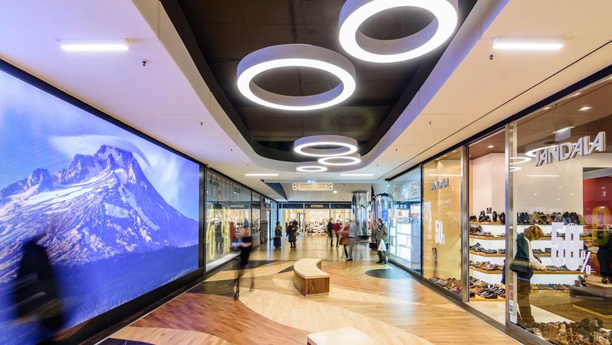 be9754c25b705 Objetivo melhorar a experiência de visita e a atratividade dos Centros •  CascaiShopping foi alvo de uma renovação profunda e o projeto inspirado ...