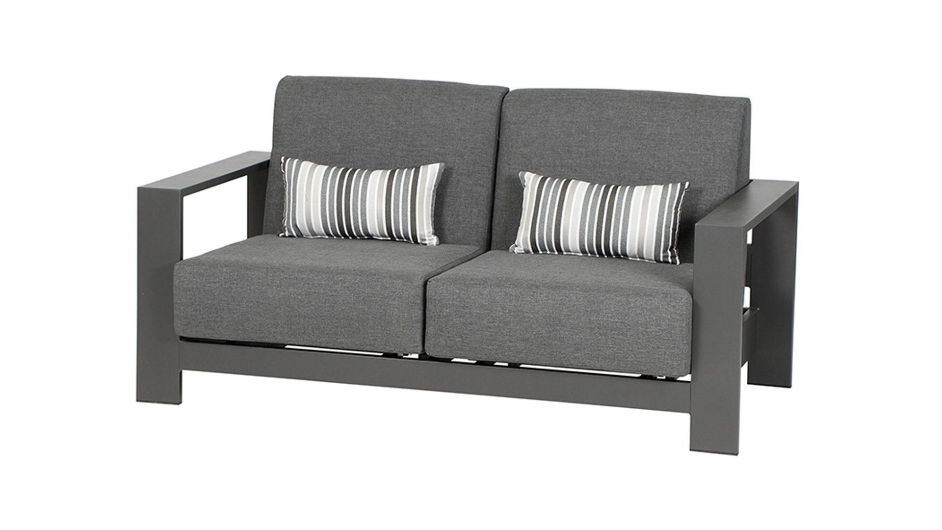 Lounge Sofa Grau Garten Siena Garden Lounge Sofa 3 Sitzer Belia Grau