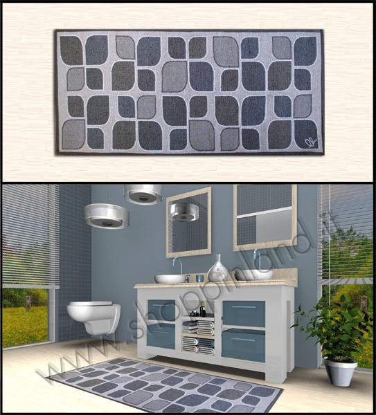 Tappeti moderni per il bagno e il soggiorno a prezzi bassi  Tronzano Vercellese