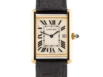 Preowned Cartier Louis Tank