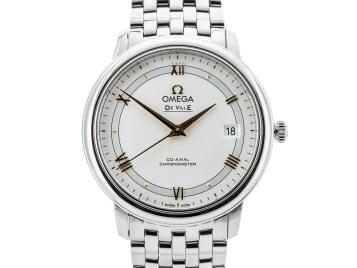 Preowned Omega De Ville Prestige Co Axial