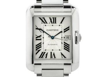 Preowned Cartier Tank Anglais
