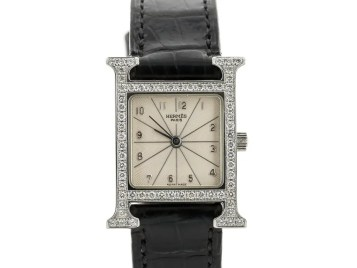 Preowned Hermes Heure H Watch