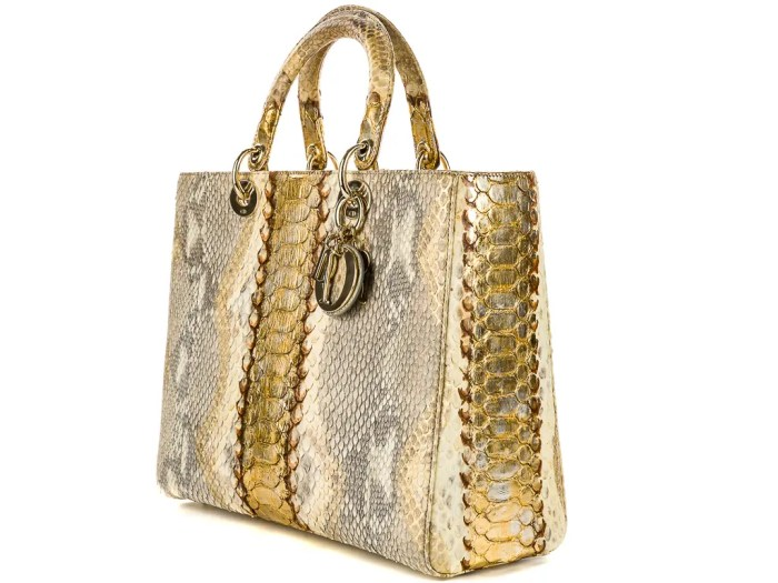 Lady Dior Python Limited EditionBag