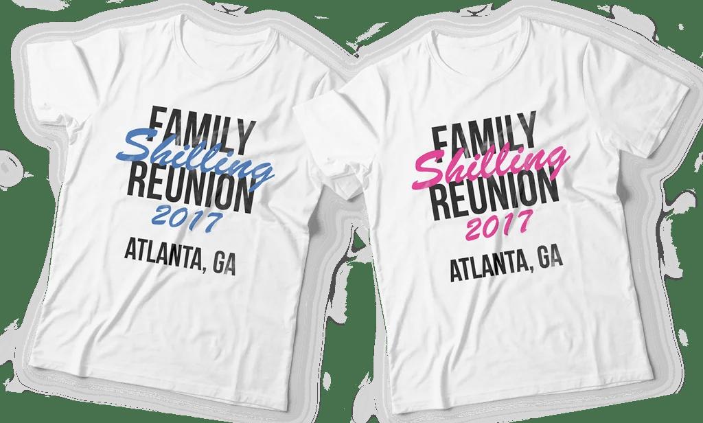 Family Reunion T Shirts Memorabilia Printco Printing