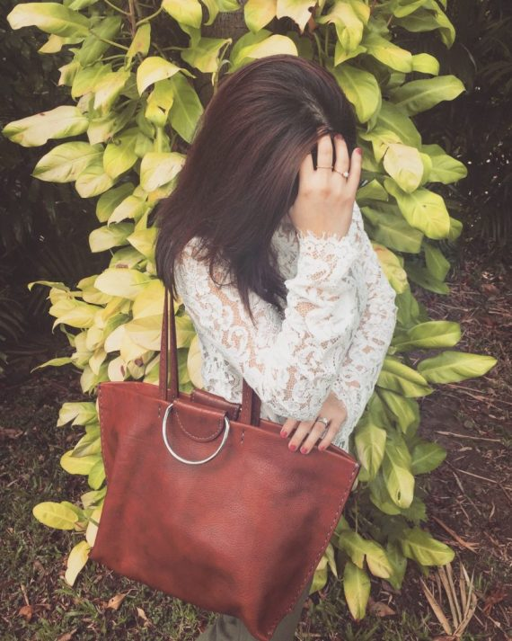 soft leather tote