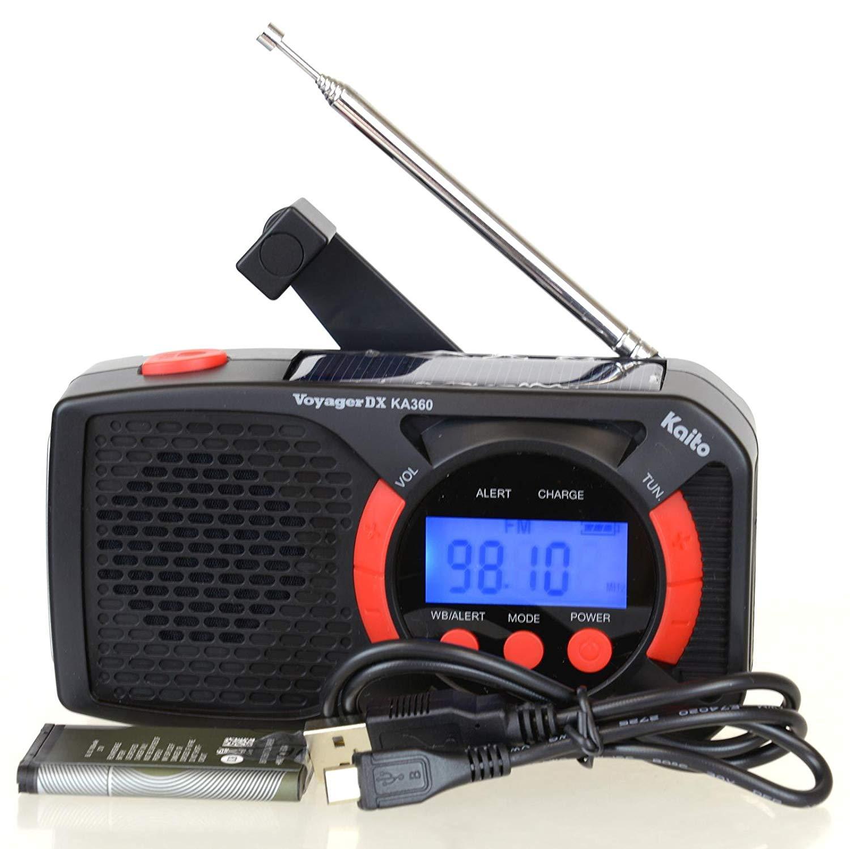 Click to enlarge. HomeRadios Kaito KA360 Digital Portable ...