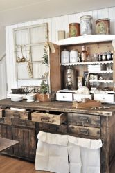 Rustic Country Farmhouse Kitchen