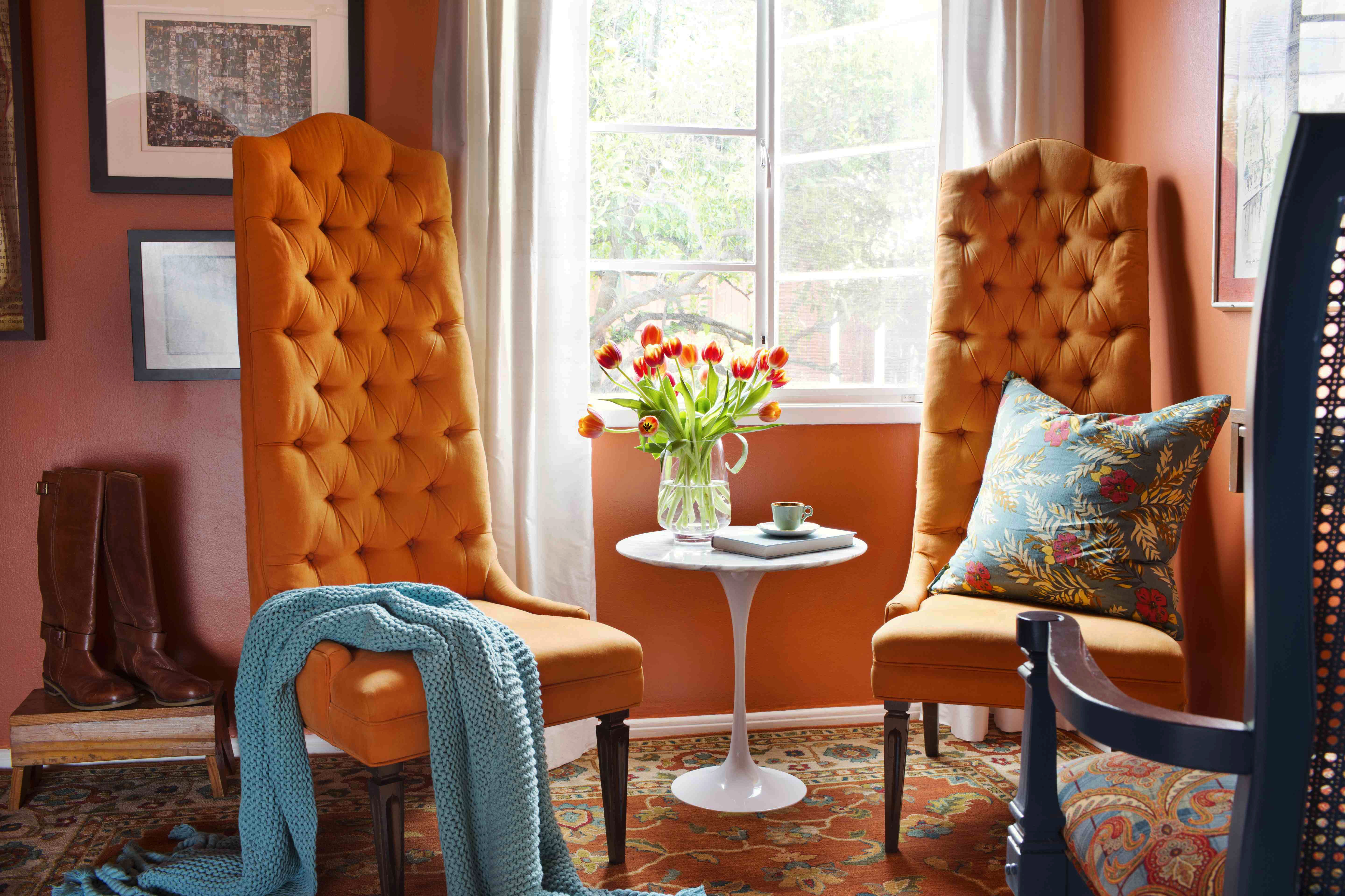How To Decorate Your Home With Orange Photos