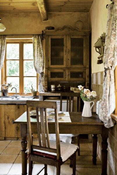 rustic farmhouse country kitchen 8 Beautiful Rustic Country Farmhouse Decor Ideas