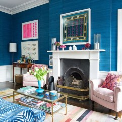 Traditional English Living Room Design Plants These 4 Colours In Your Home Can Be Affecting Mood Shoproomideas Eclectic Blue Zebra Print Couch Sofa Grasscloth Wallpaper Covering Shop