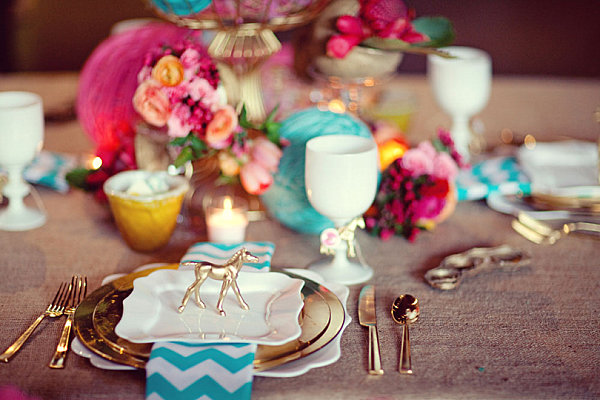 Wedding Table Setting Ideas Pinterest